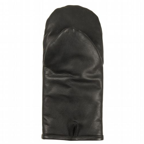Leather Oven Glove - Black